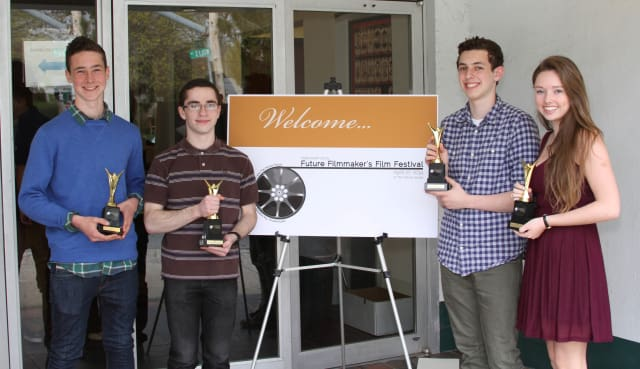 Four Westchester students were honored at the 2014 Future Filmmakers Festival.