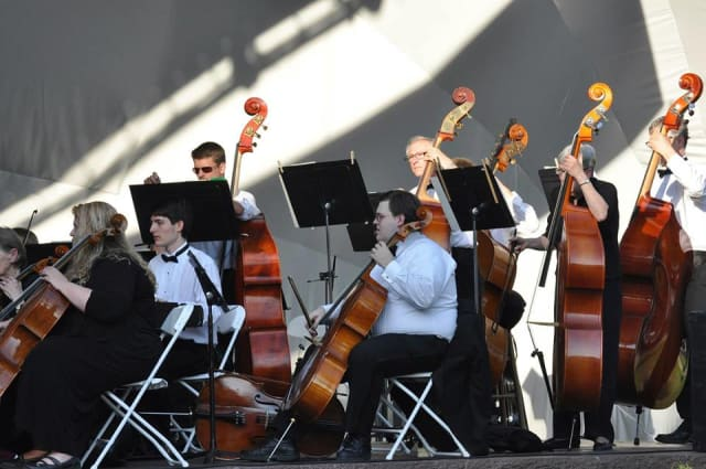 The Danbury Symphony Orchestra will open the Concerts on the Green series on Saturday.