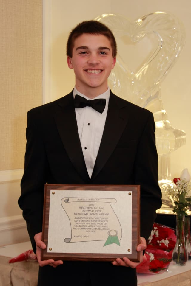 Norwalk senior Brody O'Brien was the recent recipient of a $100,000 scholarship.