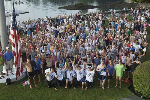 Hundreds of swimmers from Westchester County swim clubs will volunteer to swim this summer for the Swim Across America's cancer fundraisers.