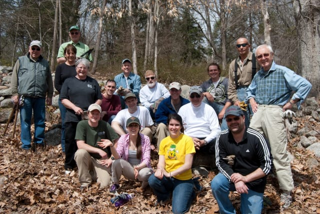 Volunteers organized by Westport resident Bob Fatherley, – including many from the Y's Men of Westport – contributed more than 100 hours of labor and raised over $6,000 toward the restoration of the Katharine Ordway Preserve in Weston.