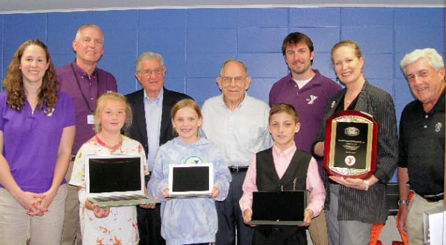 The Kiwanis Club recently provided a $6,000 grant to the Wilton Family Y to buy new equipment for its technology center.