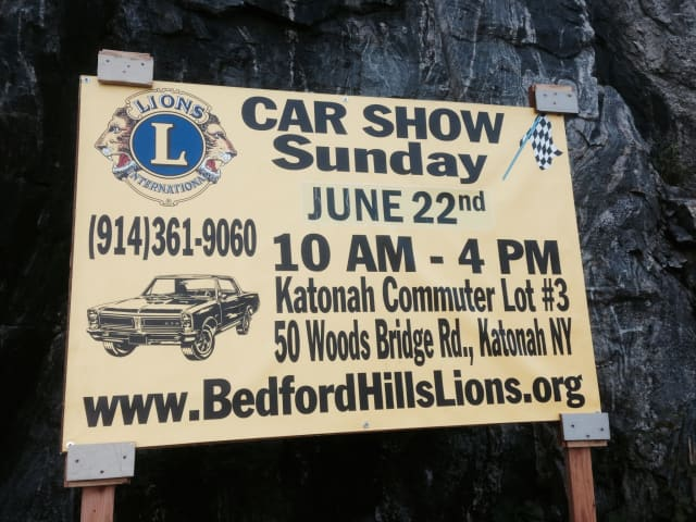 The Bedford Hills Lions will host a car show on Sunday, June 22.