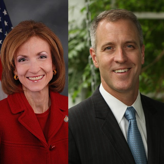 Nan Hayworth and Sean Maloney are expected to be embroiled in a hotly contested race in the 18th congressional district in Westchester come November.
