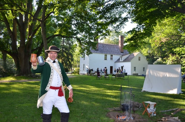 Revolutionary War re-enactors will be at Fairfield Family Fun Fest on Saturday, July 5.
