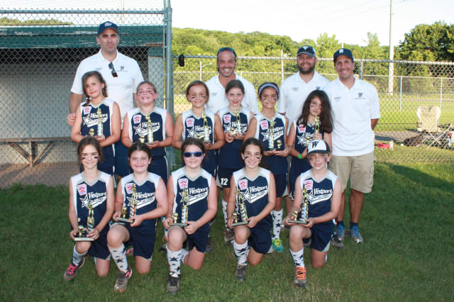 The Westport 8-and-under softball team finished second in a seven-team tournament with other squads from Fairfield County.