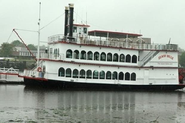 A fight was reported on-board the Island Belle in Norwalk Harbor early Sunday morning, though the owner said that it was quickly broken up.