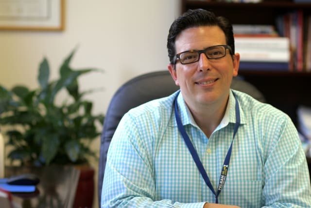 Pelham Superintendent Peter Giarrizzo.