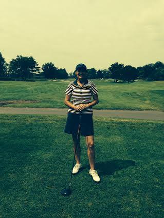 Alison Tane won the Longshore Women's Golf Association's George Buck Tournament.