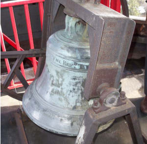 The Freedom Bell, an 1,800-pound twin of the more famous Liberty Bell, was cast in 1752 by the same foundry that manufactured the Liberty Bell and hangs in the tower of St. Paul's Church.