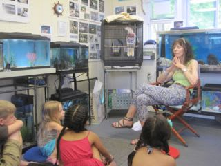 The Marine Education Center will be hosting a reading workshop and a ceramics workshop for children in July.