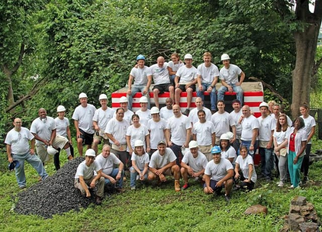 OLA Consulting Engineers participated in build day with Habitat for Humanity.