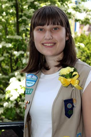 Elizabeth Van Winkle of Fairfield created a summer reading program for kids at the Pequot Library in Southport to earn her Girl Scout Gold Award.