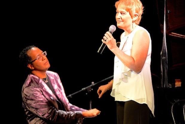 "Joel Martin and Liz Callaway perform at the Darien Arts Center's ""Get Jazzed"" event."