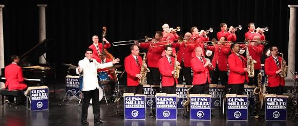 The Glenn Miller Orchestra will perform at the Ridgefield Playhouse on Saturday.