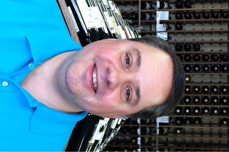 Aris DiGiulio is the owner of Village Wine & Spirits in Ridgefield, Conn.