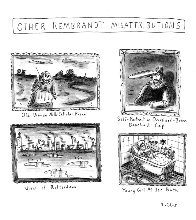 """The exhibition of Roz Chast's works, """"Being, Nothingness and Much, Much More: Roz Chast, Beyond The New Yorker"""" will be held at the Bruce Museum from July 12 to October 19."""