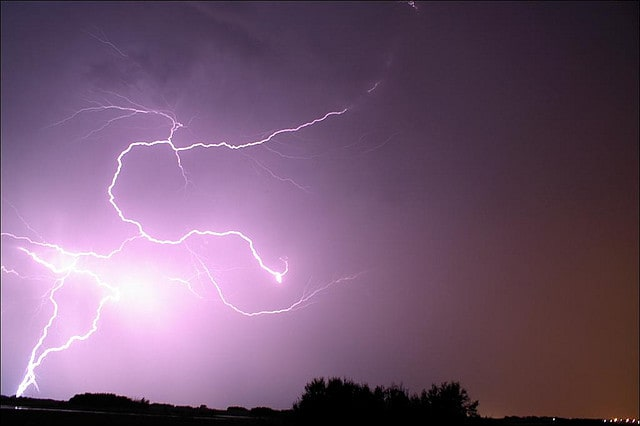 The threat of isolated thunderstorms will return to Fairfield on Friday, July 11.
