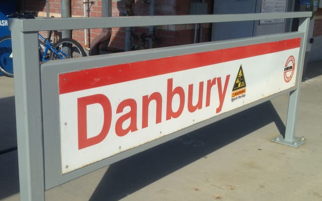 Train riders along the Danbury Branch will be on buses instead Saturday morning and early afternoon for the next three weeks.