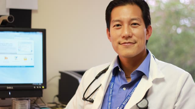 Dr. Daren Wu is the chief medical officer at Open Door Family Medical Centers in Port Chester.
