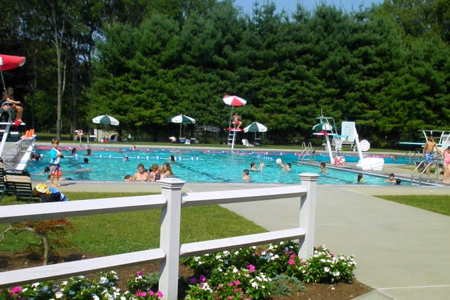 Bedford Village Pool will be the location for poolside story time with Bedford Free Library.