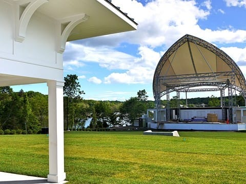 Westport's new Levitt Pavilion is nearly finished with construction.