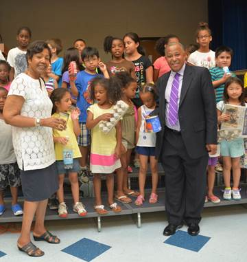 "Westchester County Legislators Alfreda Williams and Ben Boykin began the ""Recycling Rangers"" program with 160 participating campers at the Bits 'n' Pieces Enrichment Camp. The program introduces youth to the importance of protecting the environment."
