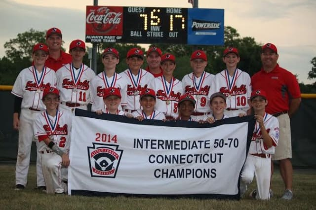Fairfield American won the state Little League championship in the 50-70 division. See story for IDs.