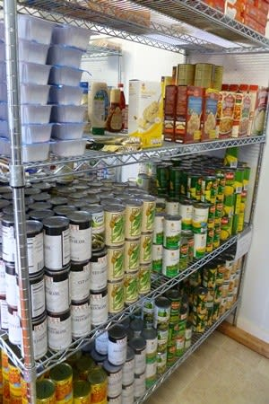 Weston residents can pay down their library late fees by donating non-perishable food items this week.
