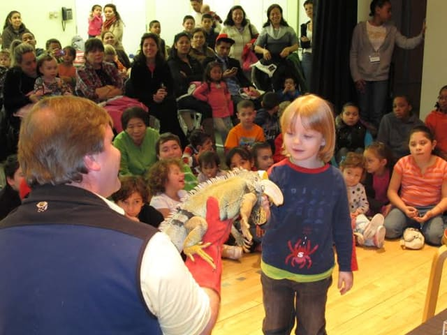 Children will have the opportunity to have up-close encounters with live animals at Zoology for Kids.