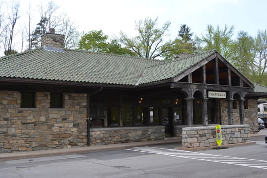 Chappaqua train station.