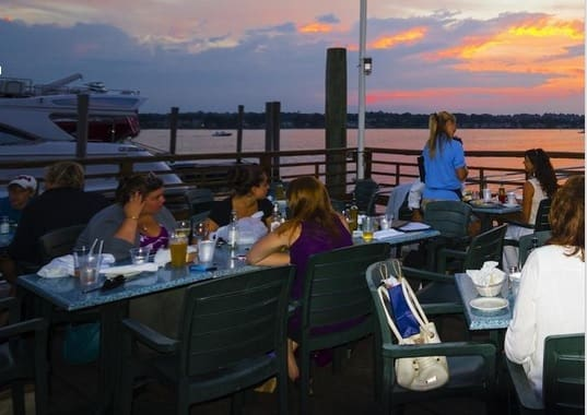 There are many options in Norwalk for waterfront dining.