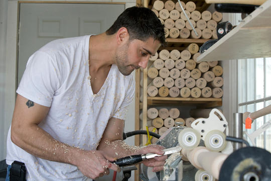 Pete Tucci, former professional baseball player and owner of Tucci Lumber, has honed his bat-making skills over the last five years to build a successful company that supplies bats to players in Major League Baseball.