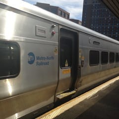 A 40-year-old man apparently committed suicide by jumping in front of a Metro-North train near New Rochelle on Monday night.