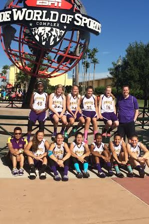 The Stamford Peace eighth-grade AAU girls basketball team finished 6-2 in the AAU national championships in Orlando, Fla.