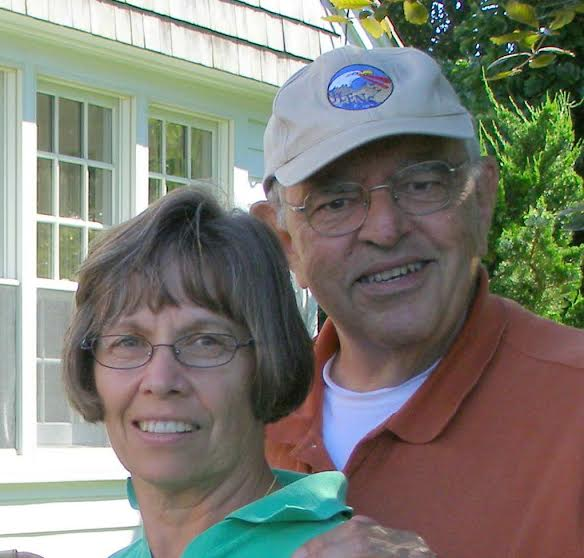 Tarrytown native and author of the family memoir 27 Cottage Place Peter Barbella Jr. and his wife, Gayann Tricarico Barbella.