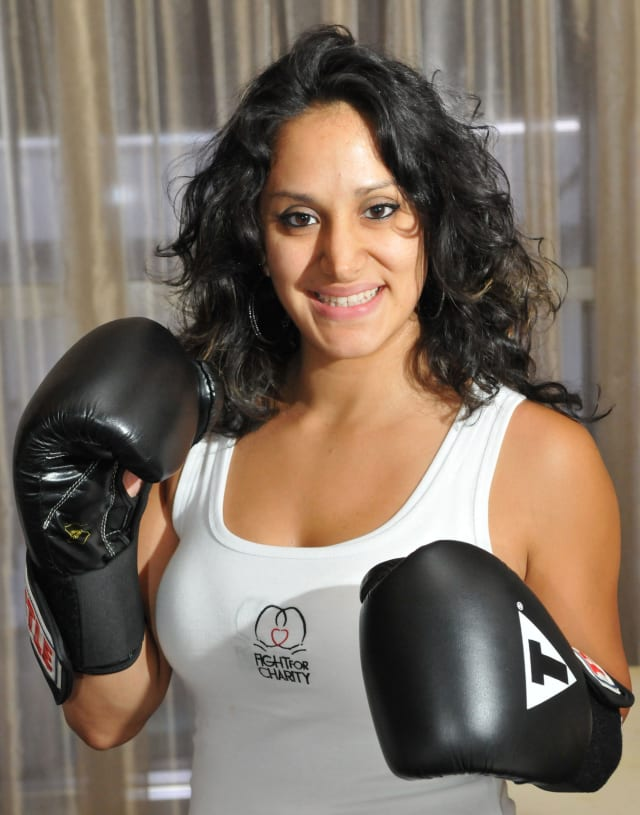 """Port Chester's Wendy """"The Sweetest Sin"""" Sincuir will be participating in the Long Island Fight for Charity in November."""