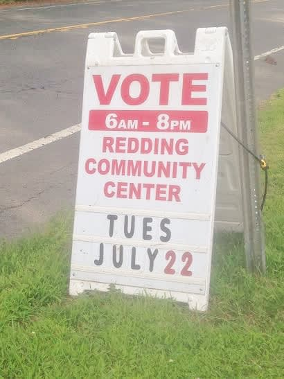 All three items on the Tuesday ballot in Redding were approved by voters.