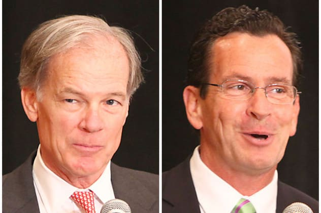 A recent online poll suggests republican Tom Foley is leading incumbent Dannel P. Malloy in the race for governor.