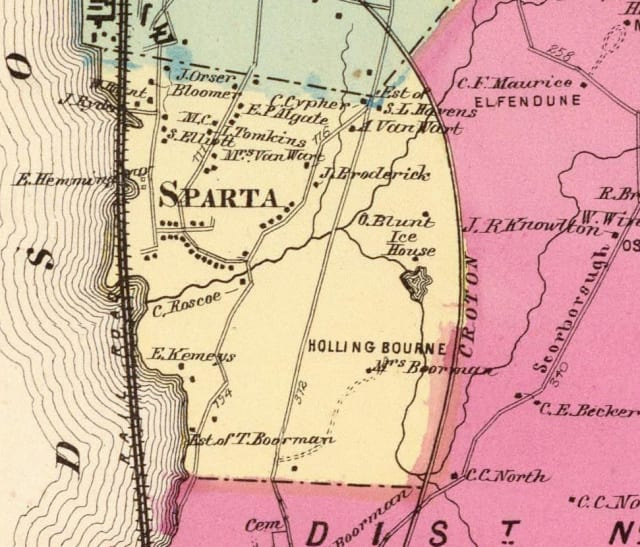 The Jug of Sparta will conduct a walking tour of the historical Sparta in Ossining.