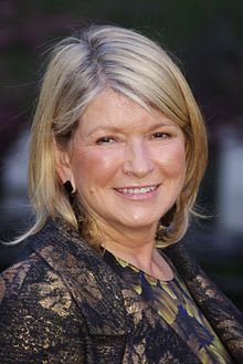 Martha Stewart turns 73 on Sunday.