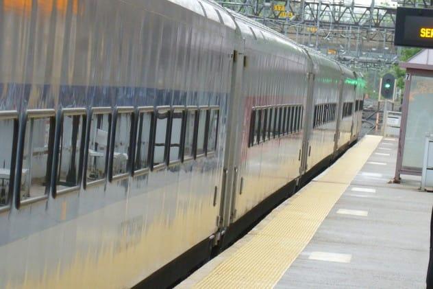 McCallum was struck at the Cortlandt Train Station.