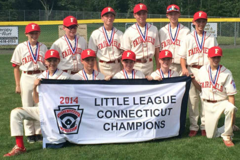 The Fairfield American Little League team will open play in the New England Region tournament Friday against Vermont.