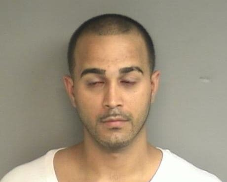 Eric Leon, 31, of Ozone, N.Y., charged with brandishing a pellet gun at Stamford store.