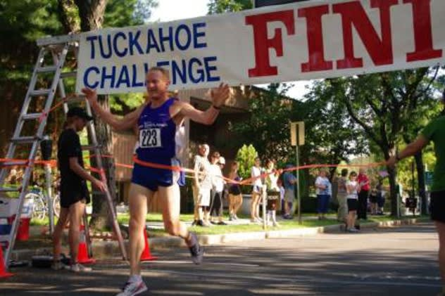 Finishers at last year's Tuckahoe Road Race.