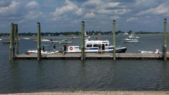 The Greenwich Police Department Marine Section responded to a fatal accident on Long Island Sound.