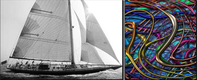 Some of Kevin Dailey's photography that will be in the exhibit.