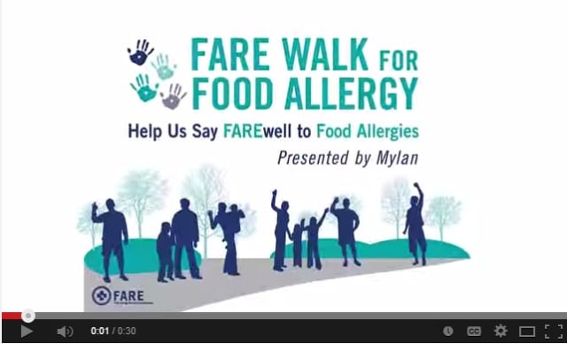 Raise funds for research, education and advocacy at FARE Walk for Food Allergy.