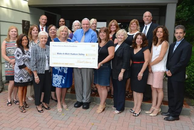 Hudson Gateway Association of REALTORS members recently raised nearly $8,000 for Make-A-Wish Hudson Valley.