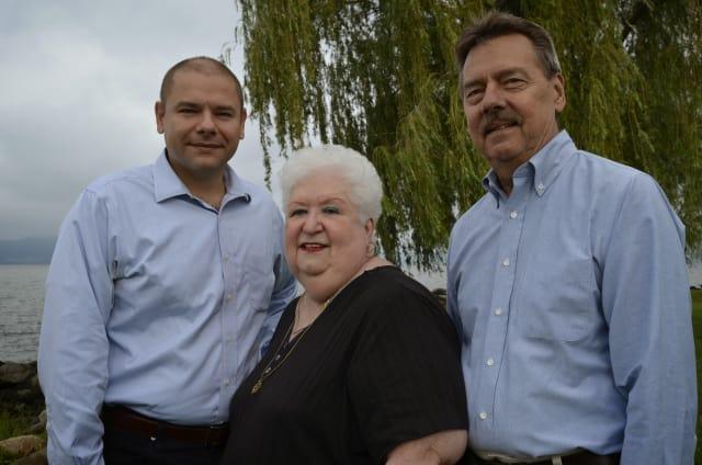 John Brijeski, Virginia Calcutti and Bob Anderson are running for Croton Village Board.